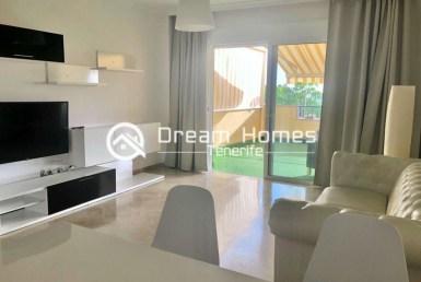 Spacious Two Bedroom Apartment in Puerto de Santiago Living Room Real Estate Dream Homes Tenerife