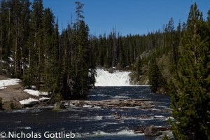 Lewis Falls, a bit further upstream. 30'.