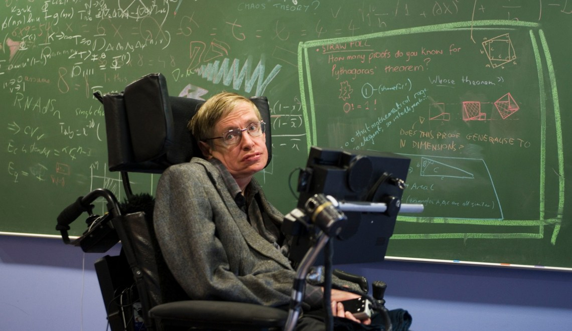 Stephen Hawking: 'I recommend for these people to go to the Venus as soon as possible. I will cover the travel expenses.'