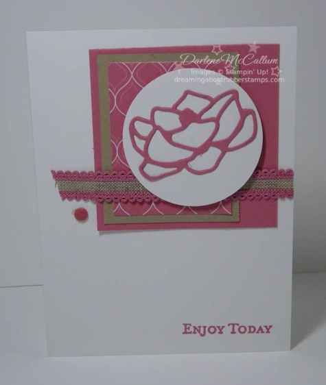 Rococo Rose by Stampin Up