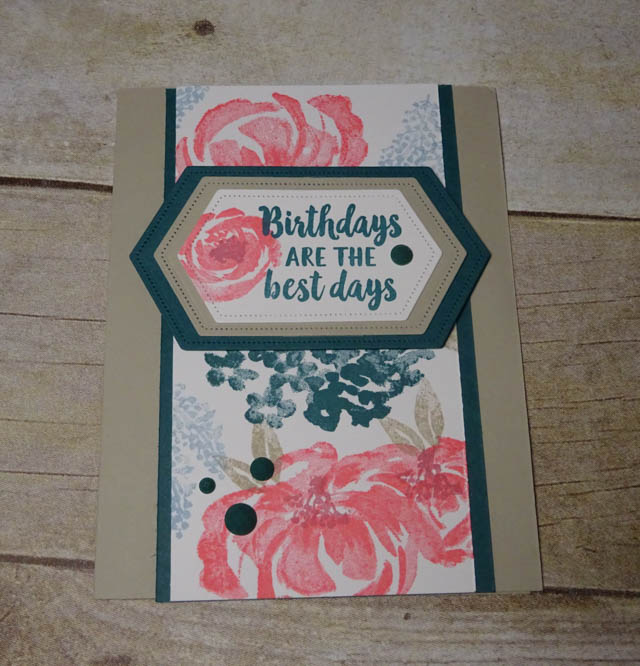 Beautiful Friendship in stunning new in colors stampin up