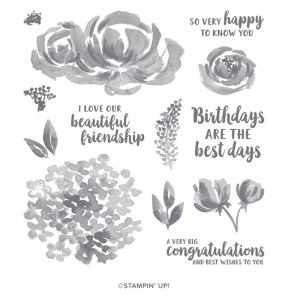 Beautiful Friendship stamp set by Stampin Up
