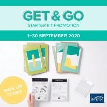Get & Go Starter Kit Promotion