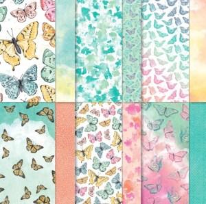Butterfly Bijou Designer Series Paper