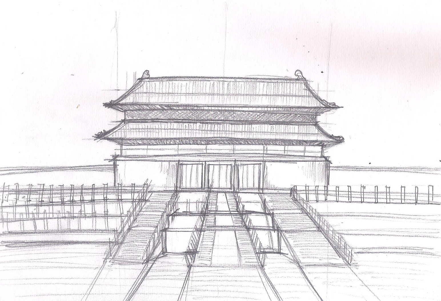 Easy Drawings Korean