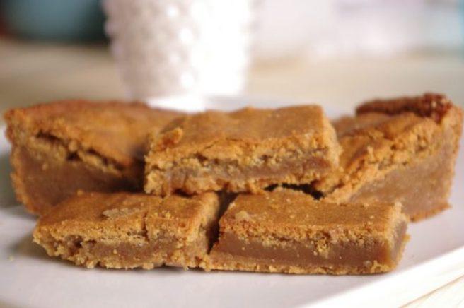The BEST Blondies - Blonde Brownies Cookie Bars Dessert Treat Recipe