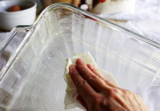 Prison Blondies Blonde Brownies Dessert Treat Recipe Greasing your Baking Dish