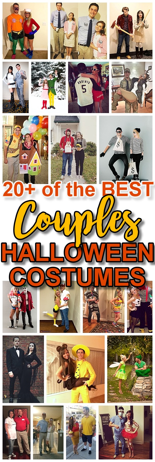 DIY Couples Halloween Costume Ideas - Do it Yourself Homemade Couples Costume Ideas that are SO FUN to make and are sure to be a big hit at Halloween Parties - You are so going to win the Costume Contest!