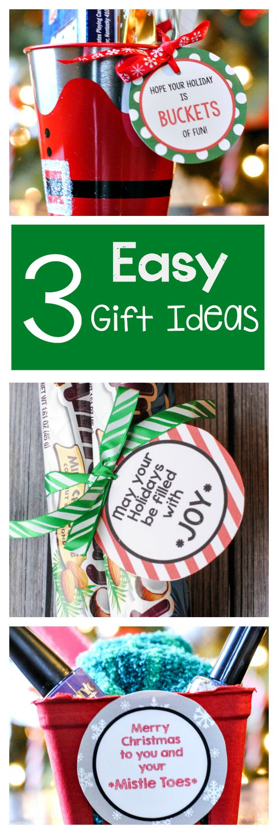 The best free christmas printables gift tags holiday Easy gift ideas for friends