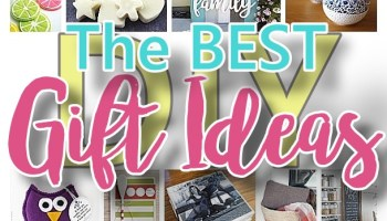 The BEST Do It Yourself Gifts
