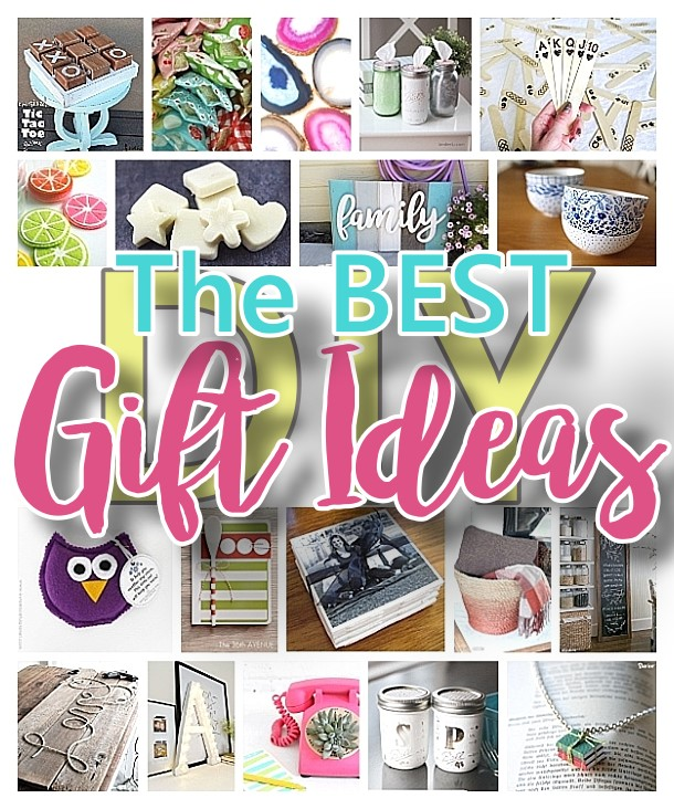 The BEST Do it Yourself Gifts - Fun, Clever and Unique DIY Craft Projects and Ideas for Christmas, Birthdays, Thank You or Any Occasion via Dreaming in DIY