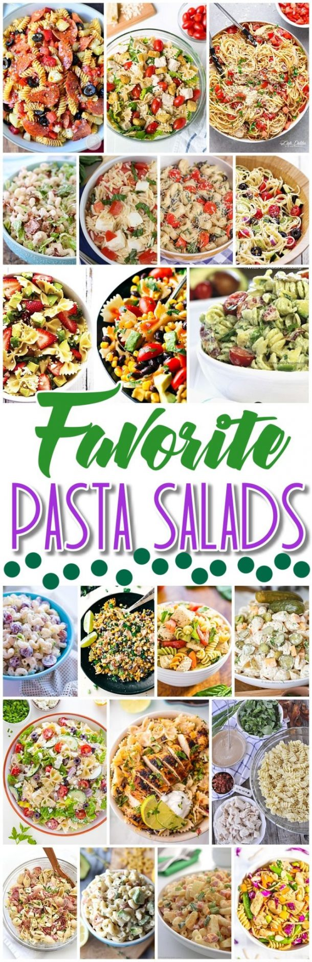 Easy pasta recipes for groups