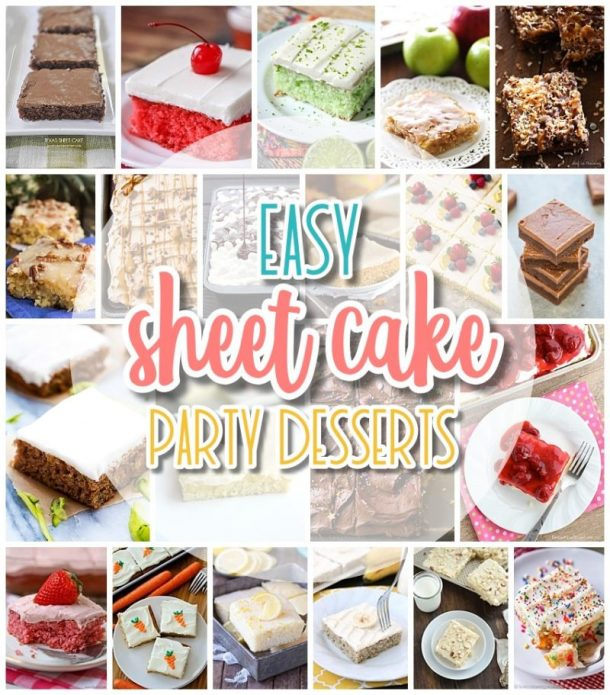 The Best EASY Sheet Cakes Recipes