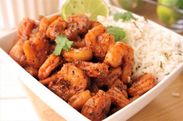 Cajun Shrimp Rice Bowls 15 Minute Baked Sheet Pan Suppers Recipe via Dreaming in DIY