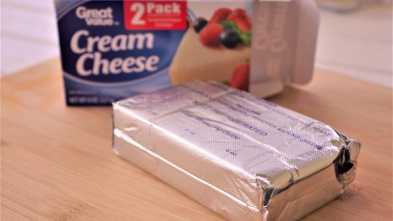 How to Get Softened Cream Cheese Not Melted in Under 10 Minutes Baking Hack - Dreaming in DIY