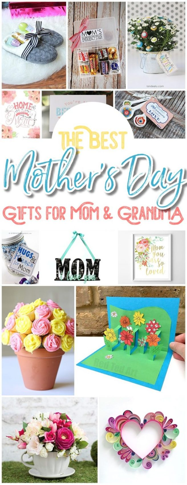 The BEST Easy DIY Mother's Day Gifts and Treats Ideas ...