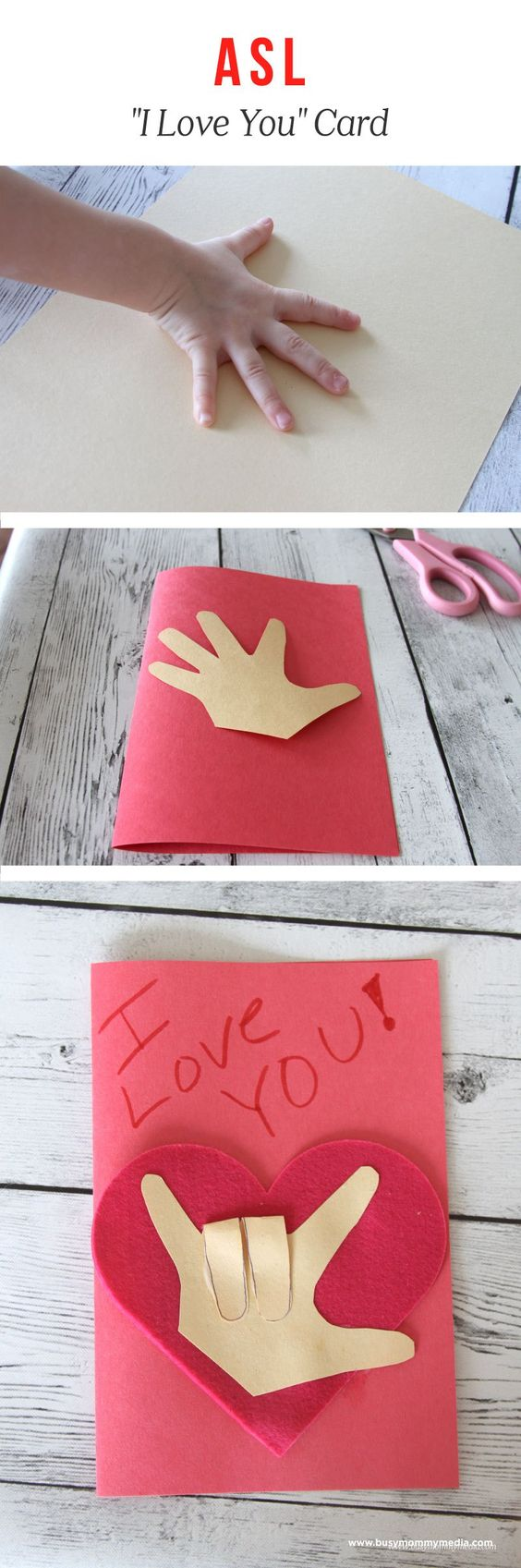 Fun and Easy Valentine's Day KIDS Crafts – Simple Pink ...