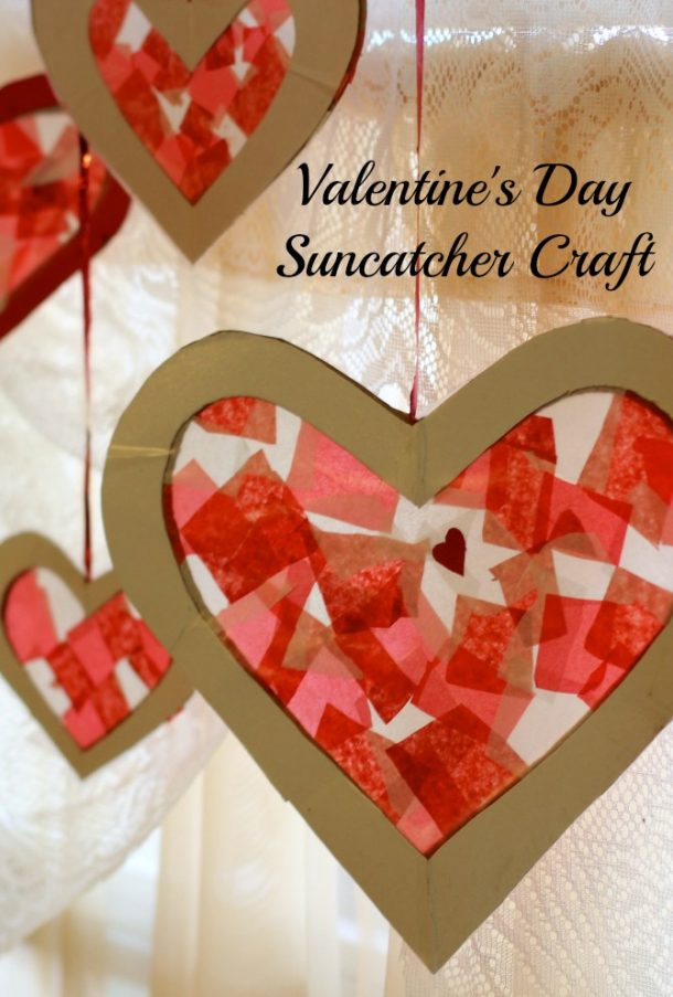 Fun And Easy Valentines Day KIDS Crafts Simple Pink Love Red And Hearts Art Projects And