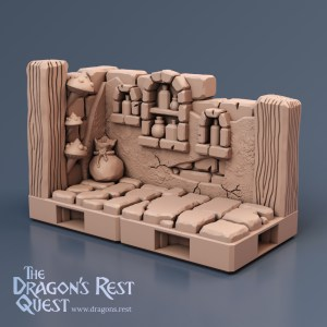 Dungeon Alcove Tiles