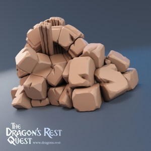 Dungeon Block Rubble