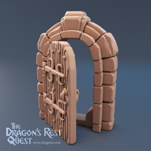 Dungeon Door (Stand Alone)