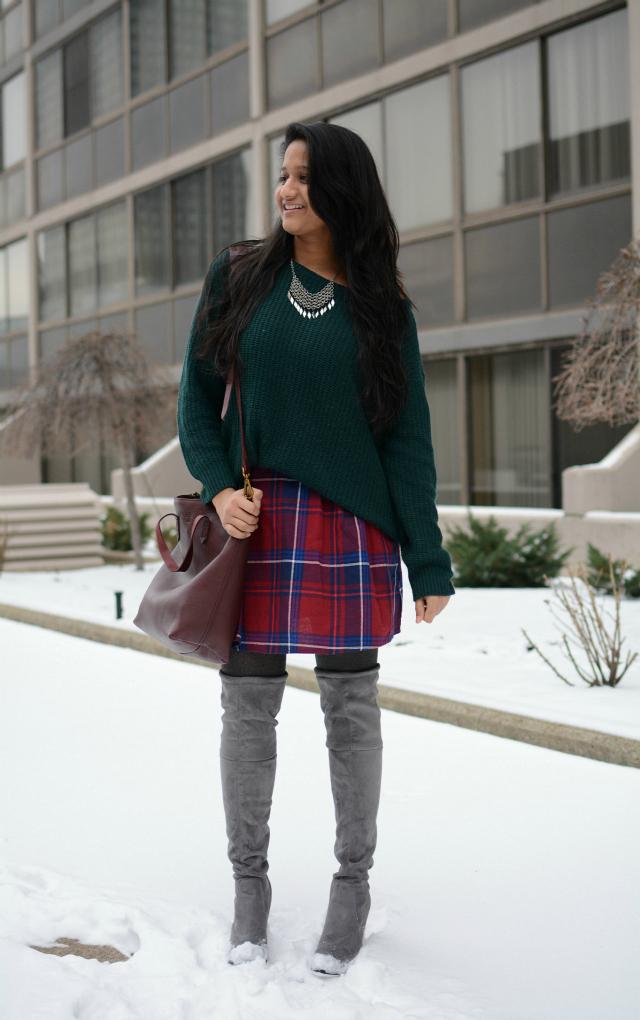 old-navy-plaid-skirt