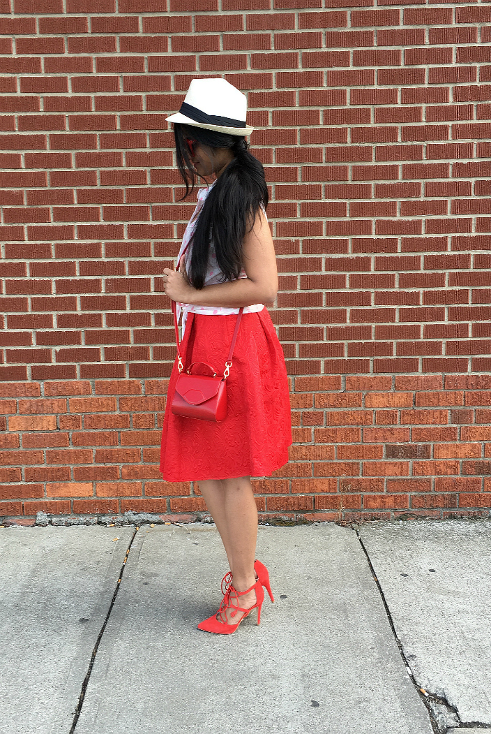 newchic-red-pleated-skirt-dl
