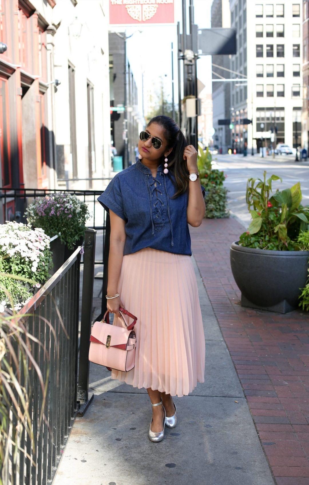 asos-blush-pleated-midi-skirt