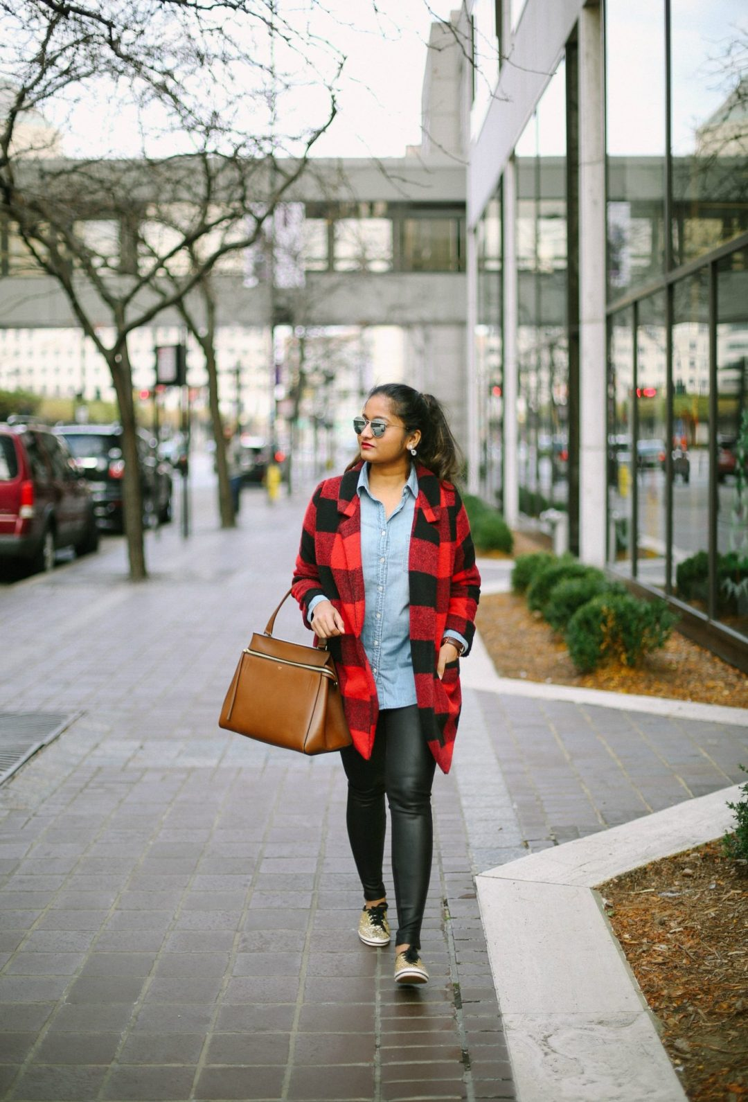 old-navy-stand-collar-red-plaid-coat-1