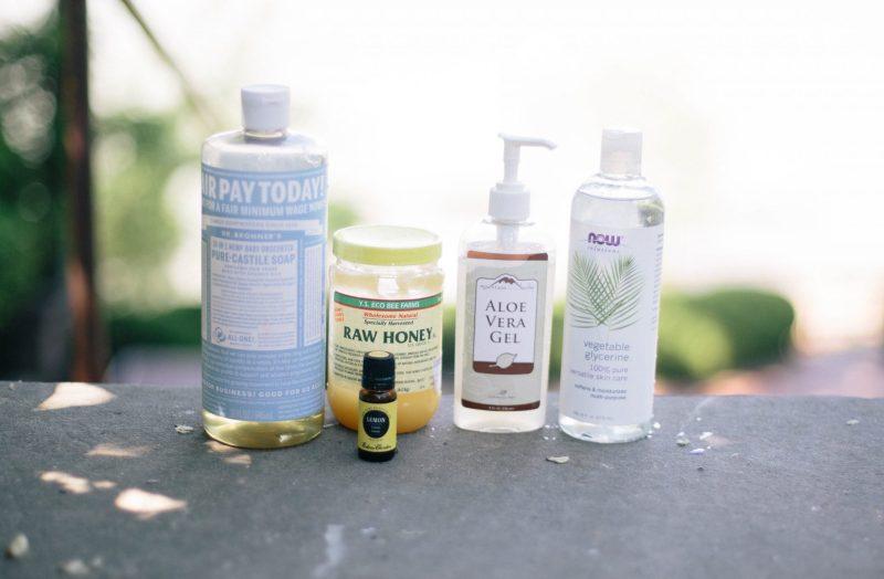 All Natural Antibacterial Face Wash