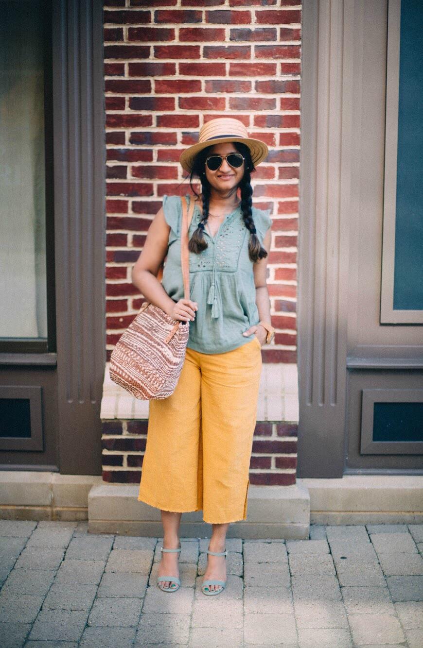 Asos-linen-wide-leg-pant-yellow