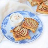 Easy Apple and Hazelnut Frangipane Tarts