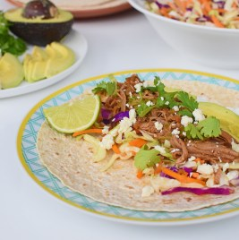 'Sweet' Tacos with Easy Slaw (p 200 of Simplicious).