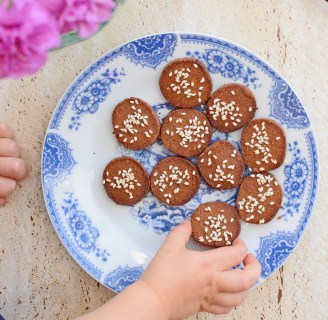 Slice n Bake Miso Butter Biscuits from Simplicious