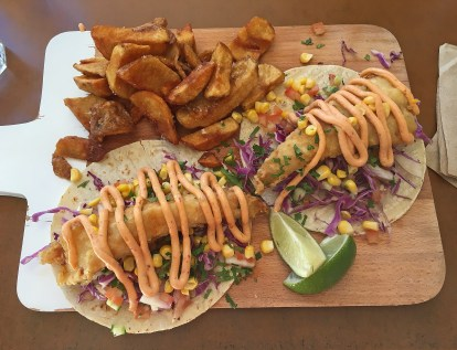 Delicious Fish Tacos from Fish Mongers