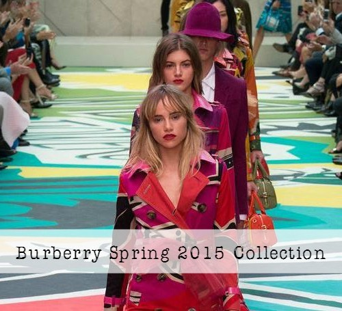 Burberry Spring 2015 RTW Collection at London Fashion Week