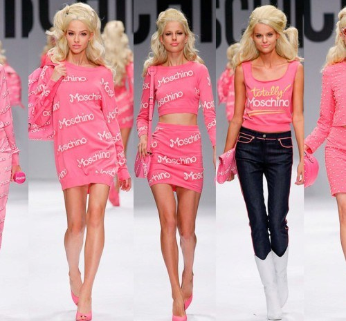 Moschino Spring 2015 RTW Collection at Milan Fashion Week