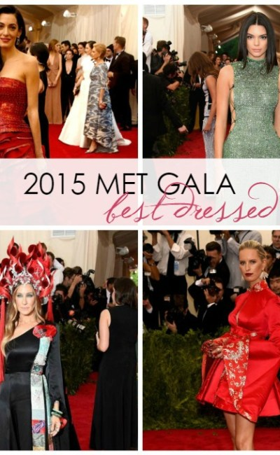 Red Carpet: 10 Best Dressed at the 2015 Met Gala
