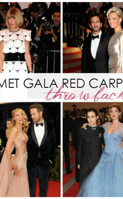Met Gala Red Carpet History