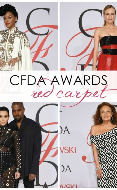 2015 CFDA Awards Red Carpet Roundup