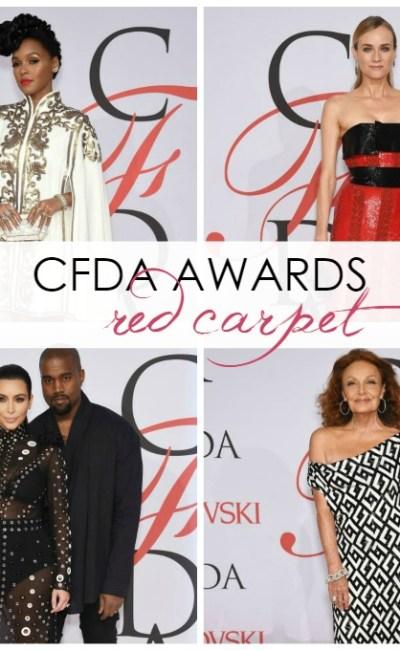 2015 CFDA Awards Red Carpet Roundup