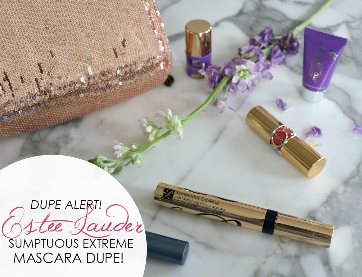 Estee Lauder Sumptuous Extreme Mascara Dupe - Dream in Lace