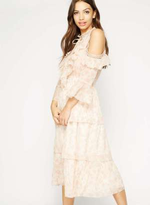 12f99c4b1 how-to-steal-the-beguiled-style-miss-selfridge-cold-shoulder-ruffle ...