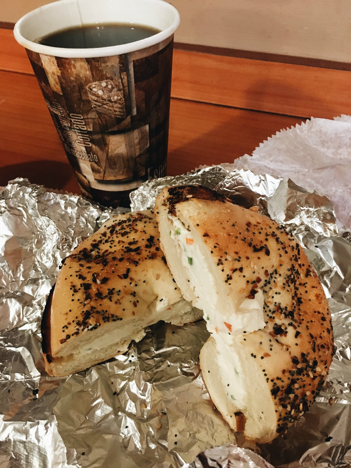 February Wrap-Up I Vegan Bagel from Tribeca Bagels