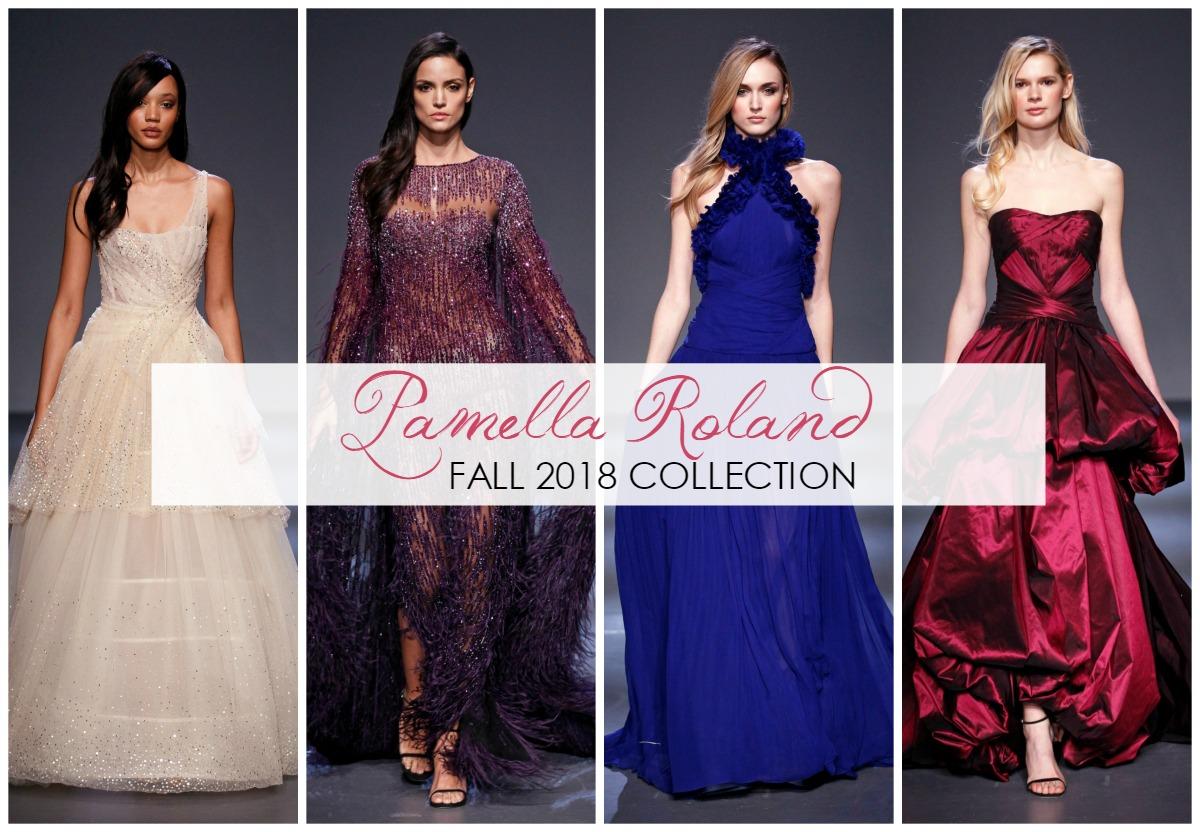 Pamella Roland Fall 2018 Runway Show at New York Fashion Week #NYFW #FallFashion