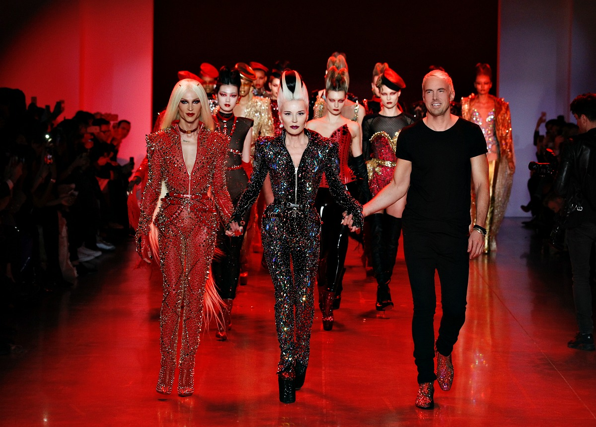 The Blonds Fall 2018 Runway at New York Fashion Week #NYFW #Runway