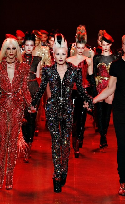 NYFW: A Battle of Good v. Evil at The Blonds