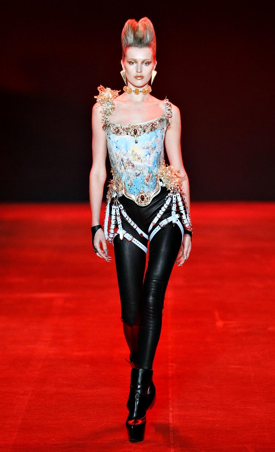 The Blonds Fall 2018 Runway at New York Fashion Week #NYFW #Runway