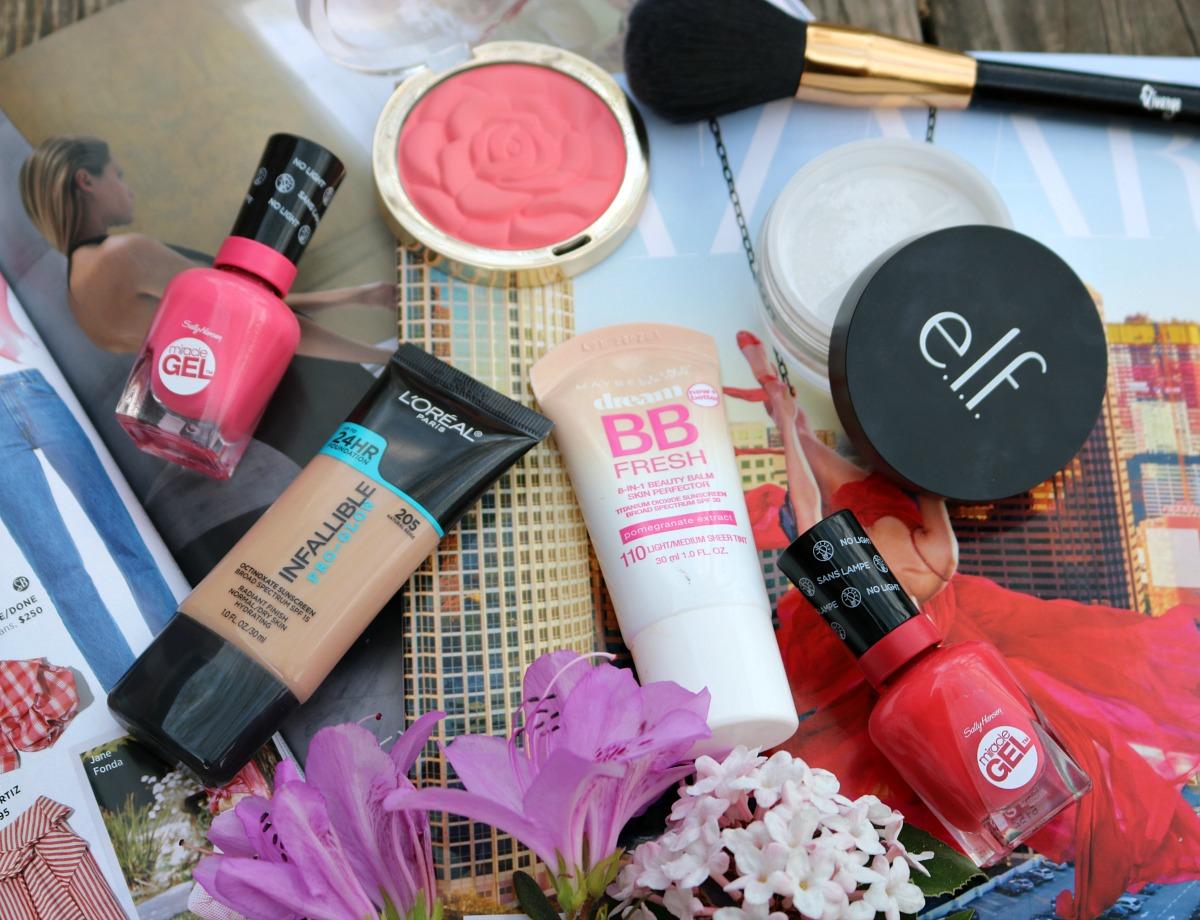 Spring Drugstore Makeup Favorites I DreaminLace.com #SpringMakeup #Makeup