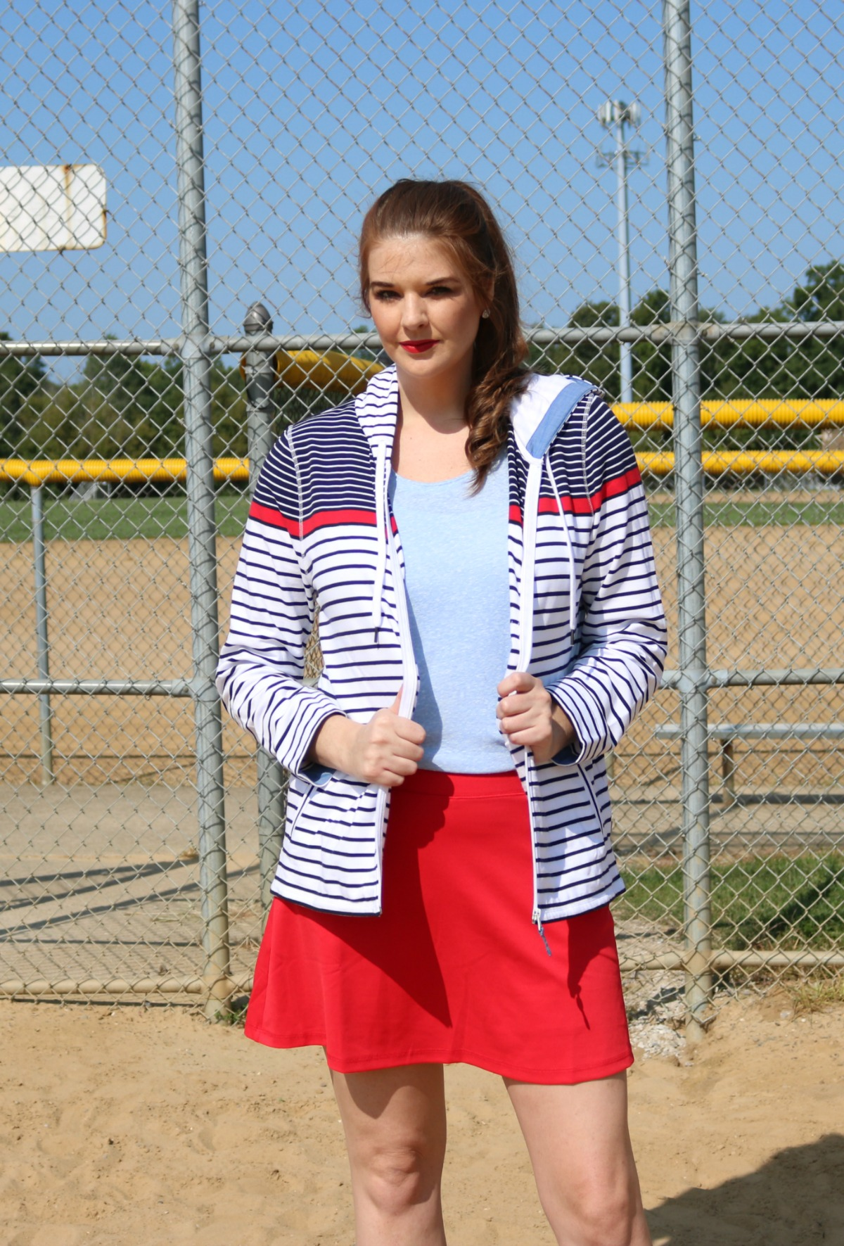 2018 Fourth of July Sales I T by Talbots Patriotic Outfit #SummerStyle #Shopping #Talbots